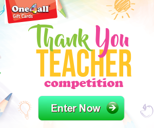 Advert: https://www.one4all.ie/thankyouteachercompetition