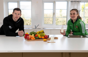 Ireland's sporting Heroes inspiring young people on and off the Pitch! Bord Bia and the NDC join forces to Encourage Healthy Eating Habits